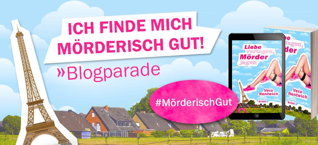 """Buchblogparade: """"Liebe vertagen, Mörder jagen"""""""